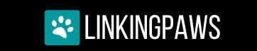 LinkingPaws Logo White